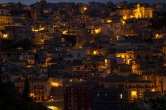 Ragusa at night